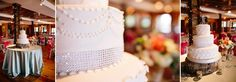 Reception | Event Center | Legacy Farms | Main Event Productions | Wedding cake:: The Bake Shoppe | Photographer: Shots by Cheyenne