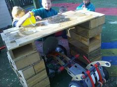 creating a car wash (and writing instructions!!) #abcdoes #eyfs #engagingboys