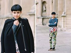 Pretty close to (floral) perfection - Vanessa Jackman: Paris Fashion Week AW 2012....Anne-Catherine