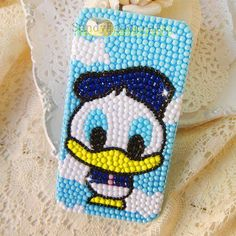 New cute cell phone case design, custom same pattern for your cell phone cover-Donald Duck iPhone Case, Samsung model Phone Case, iPod touch Cases