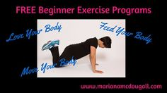 FREE Beginner #Exercise Programs