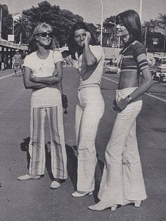 Who else wore bell bottomed pants during the 70s? - Who Remembers This?