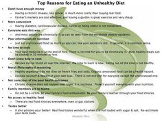 Top 10 Reasons for Eating an Unhealthy Diet Unhealthy Diet, Cardiovascular Disease, Weight Loss Diet Plan, Healthy Choices, Good To Know, Real Food Recipes, Diabetes, Natural Remedies, Healthy Living