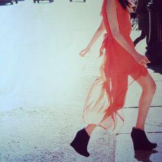 Natalie Off Duty: Natalie Suarez x Volcom Fall '12 Ad Campaign