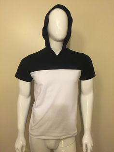 T-shirt Bl. with hoodie High Neck Dress, Turtle Neck, Menswear, Hoodies, Sweaters, T Shirt, Dresses, Fashion, Turtleneck Dress