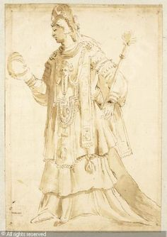 SCHOOL OF FONTAINEBLEAU,A costume design for a masquerade,Sotheby's,New York