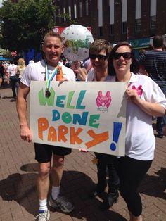 Fancy running a marathon for us like John Parkinson did? Marathon Running, Raise Funds, Charity, Alice, How To Get, Fancy, Park, Logos, Logo