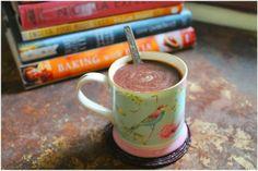 Dark Hot Chocolate,  flavoured with cinnamon and orange
