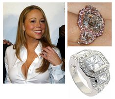 mariah careys rings which one do you like best a ring fit for a celebrity pinterest engagement ring and celebrity - Mariah Carey Wedding Ring