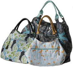 Tutorials bags - eBook: Arya - pocket with diagonal zip - a designer piece of Griselda on DaWanda 1 of 2