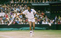 Que gran Campen de tenis y de la vida. Arthur Ashe