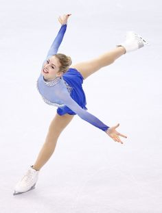 Gracie Gold-helped secure the US's bronze medal in team figure skating!