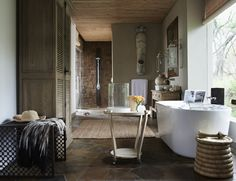 Singita Serengeti House bathroom