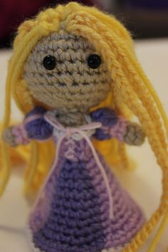 Amigurumi Star Wars Patrones Gratis : 1000+ images about Crochet Rapunzel. Horgolt Aranyhaj on ...