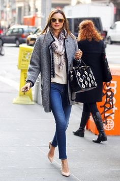 @roressclothes closet ideas #women fashion outfit #clothing style apparel Miranda Kerr Layers