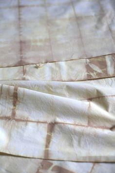 DIY Onion Skin Shibori