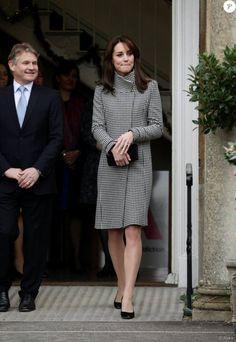 """Duchess Catherine - """"Action on Addiction"""" Centre, le 10 Décembre 2015"""