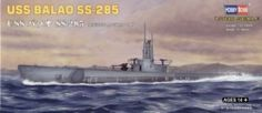 Hobby Boss 1/700 USS Balao SS-285 by Hobby Boss. Save 15 Off!. $6.79. Assembly Required Skill Level 2. Ages 10 and up.. 1/700 Scale. Nice little kit by Hobby Boss complete recessed panel lines, decals and instructions and display stand. Skill level 2.