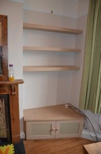 Alcove Shelving and unit