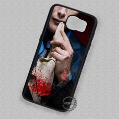 Hannibal NBC Mads Mikkelsen - Samsung Galaxy S7 S6 S5 Note 7 Cases & Covers