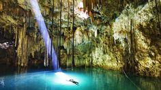 Krubera Cave, the deepest on earth. Mt. Arabika, Republic of Georgia