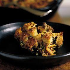 These savory bread pudding recipes include ratatouille strata with lamb and olives and zucchini-tomato strata.