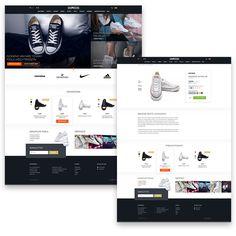 Wordpress Woocommerce e-shop for www.shoozers.eu Bratislava, Wordpress, Shopping, Self