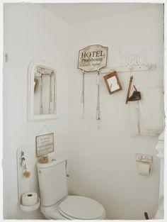Shabby Landhaus | bad und dusche im shabby stil | Pinterest ...