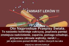 To nasionko kontroluje cukrzycę, przywraca zdrowie wątroby, nerek. Najprostsze przepisy świata.