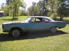 68 road runner..If I had a gazillian bucks..yeah..