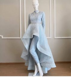 Fancy Designer Up-Down Dress - Kleider - Indian Designer Outfits, Indian Outfits, Designer Dresses, Pakistani Dress Design, Pakistani Dresses, Stylish Dresses, Fashion Dresses, Casual Dresses, Vestidos Para Baby Shower
