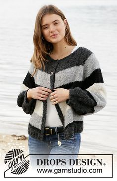 Did you know there are over 200 DROPS catalogues filled with thousands of free knitting patterns and crochet patterns for the whole family? Drops Design, Knitting Patterns Free, Knit Patterns, Free Knitting, Crochet Jacket, Knit Jacket, Drops Alpaca, Magazine Drops, Big Knits