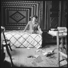 """Lucian Freud by Walker Evans 1950s 