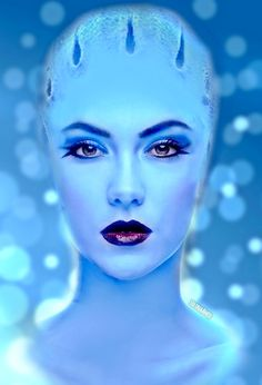 A Pretty Good Asari Would Love To This In A Movie Would Love To