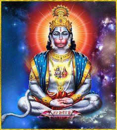 हनुमान बाहुक (गोस्वामी श्रीतुलसीदास कृत) :- सानुग सगौरि सानुकूल सूलपानी ताहि, लोकपाल सकल लखन राम जानकी I  लोक परलोकको बिसोक सो तिलोक ताहि, तुलसी तमाइ कहा काहू बीर आनकी II  केसरीकिसोर बंदी छोरके नेवाजे सब, कीरति बिमल कपि करुणानिधानकी I  बालक-ज्यों पालिहैं कृपालु मुनि सिद्ध ताको, जाके हिये हुलसति हाँक हनुमानकी II १३ II  भावार्थ :- जिसके हृदयमें हनुमानजीकी हाँक उल्लसित होती है, उसपर अपने सेवकों और पार्वतीजीके सहित शंकर भगवान, समस्त लोकपाल, श्रीरामचन्द्र, जानकी और लक्ष्मणजी भी प्रसन्न रहते हैं