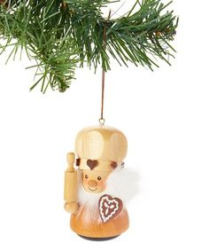Love this Natural Gingerbread Baker Ornament on #zulily! #zulilyfinds