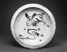 Ishizara Plate with Rabbit Design, late 18th century. Japan. The Metropolitan Museum of Art, New York. The Harry G. C. Packard Collection of Asian Art, Gift of Harry G. C. Packard, and Purchase, Fletcher, Rogers, Harris Brisbane Dick, and Louis V. Bell Funds, Joseph Pulitzer Bequest, and The Annenberg Fund Inc. Gift, 1975 (1975.268.610)