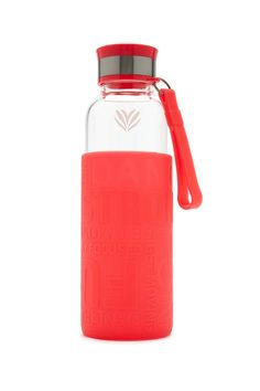 Active Graphic Glass Water Bottle