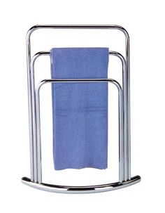 Pilaster Designs   Towel Rack Stand   Chrome Finish