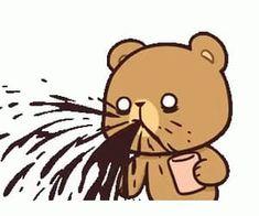 Cute Cartoon Images, Cute Couple Cartoon, Cute Love Cartoons, Cute Cartoon Wallpapers, Cute Bear Drawings, Cute Kawaii Drawings, Chibi Cat, Cute Chibi, Cute Love Gif