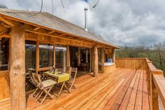 13 Amazing Treehouse Holidays With a Hot Tub in the UK [2021] Outdoor Wood Burner, Jacuzzi Bathtub, Bath Tub, The Woodman, Canopy And Stars, Outdoor Dining, Outdoor Decor, Dining Table