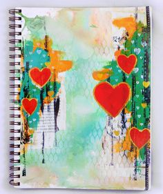 Song Li Design: Art Journal - We Found Love - ArTsY MoNdAy
