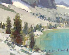 Daniel Aldana. Alpine Lake.
