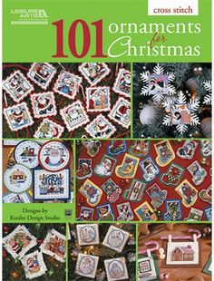 101 Ornaments For Christmas - Cross Stitch Pattern