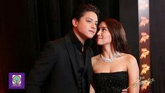 This is the handsome Daniel Padilla and the pretty Kathryn Bernardo smiling for the camera while striking at each other at the red carpet at the 2016 Star Magic Ball held last October 22, 2016 at the Shangri-La Hotel in Makati City. Indeed, KathNiel is my favourite Kapamilya love team and Star Magic talents. #KathrynBernardo #TeenQueen #DanielPadilla #KathNiel #KathNielBernaDilla #StarMagicBall #StarMagicBall2016