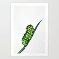 Caterpillar tattoo reference -- original by Nika Akin Grace Tattoos, Mom Tattoos, Body Art Tattoos, Hand Tattoos, Caterpillar Tattoo, Caterpillar Art, Baby Room Pictures, Bug Tattoo, Industrial Design Sketch