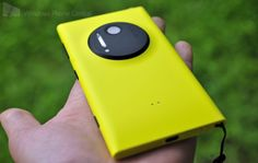 Nokia Lumia 1020, Windows phone with a 41 mp camera. Too bad Nokia doesn't make Android phones.