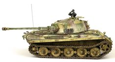 The Modelling News: Andy finishes Meng Models scale King Tiger Henschel Turret with AK shades. The Modelling News, Detailed Paintings, Tiger Ii, Tiger Tank, Camo Colors, Model Tanks, Military Modelling, Ww2 Tanks, Tank Design