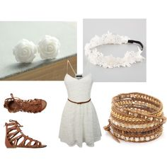 Summer look by angelica-infinity on Polyvore featuring polyvore fashion style O'Neill Chan Luu Full Tilt