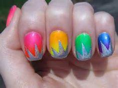Neon Nail Art Designs - Bing Images